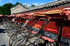 Рикши в Китае Стоковые Изображения