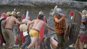 Римская галловая война видеоматериал
