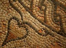 Римская деталь Mosiac Стоковое Изображение