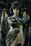 Римская каменная статуя ангела Стоковая Фотография