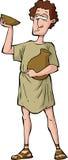 Римская пьяница иллюстрация вектора