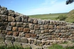 римская стена прогулки Стоковые Фото