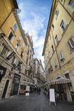 Римская сцена улицы Стоковые Изображения