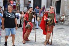 римские воины Стоковые Изображения RF
