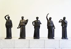 римские женщины Стоковое Изображение