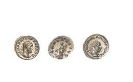 Римские монетки стоковая фотография