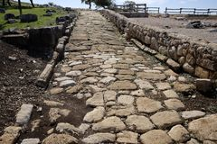 Римские раскопки стоковое фото