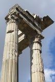 римские руины Стоковая Фотография
