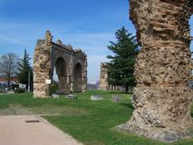 римские руины Стоковые Изображения