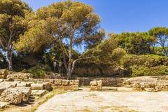 римские руины Стоковые Фотографии RF
