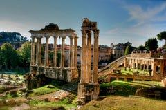 римские руины Стоковое Фото