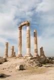 Римские столбцы виска Стоковые Фотографии RF