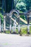 Римский взгляд археологии статуи canopo Стоковые Фото