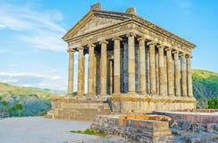 Римский висок в армянских гористых местностях стоковое изображение
