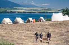 Римский военный лагерь Стоковое Изображение RF