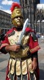 римский воин Стоковая Фотография