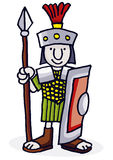 римский воин Стоковое фото RF