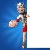 римский воин иллюстрация вектора