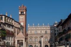 Римский квадрат в Вероне Италии Стоковые Изображения RF