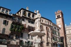 Римский квадрат в Вероне Италии Стоковая Фотография