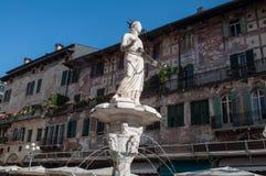 Римский квадрат в Вероне Италии Стоковое Изображение