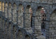 Римский мост-водовод Стоковое Изображение RF