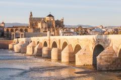 Римский мост Cordova Стоковая Фотография