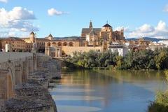 Римский мост Cordova Стоковые Изображения
