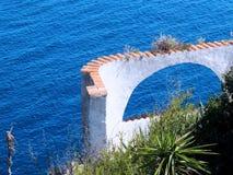 Римский свод на море Стоковые Изображения