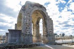 Римский свод Caparra стоковые изображения