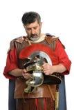 Римский солдат моля Стоковые Изображения RF