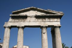 Римский строб рынка стоковые фотографии rf