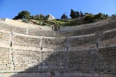 Римский театр в Аммане, Джордане Стоковые Изображения