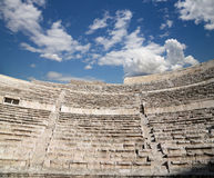 Римский театр в Аммане, Джордане Стоковое Изображение