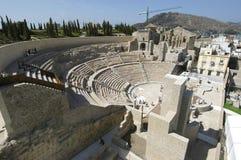 Римский театр в cartagena, стоковые изображения
