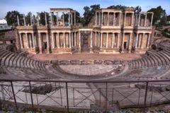 Римский театр, Мерида, Испания Стоковые Изображения RF