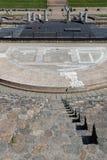 Римский театр сцены и лестниц Fourviere Стоковое Изображение