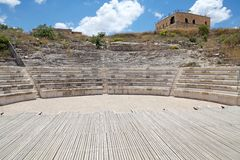 Римский театр Стоковые Изображения