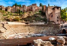 Римский театр стоковая фотография