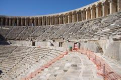 Римский театр Aspendos Стоковая Фотография
