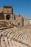 Римский театр Cartagena Испания стоковая фотография