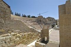Римский театр, Cartagena стоковые фотографии rf