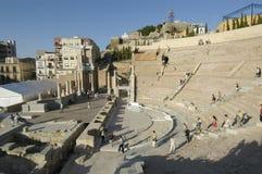 Римский театр Cartagena стоковая фотография rf