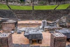 римский театр trieste Стоковые Фото