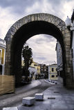 Римский триумфальный свод в Мериде Стоковые Фотографии RF