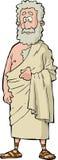 Римский философ иллюстрация вектора