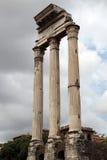 Римский форум в Рим, Италии Стоковое фото RF