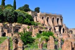 Римский форум, Рим Италия Стоковые Фото
