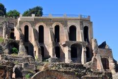 Римский форум, Рим Италия Стоковое Изображение