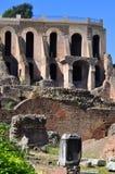 Римский форум, Рим Италия Стоковые Фотографии RF